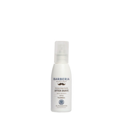 Lozione spray lenitiva dopo barba - Almagreen - Cosmetica al Naturale