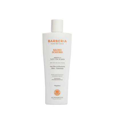 Bagnoschiuma BIO idratante uomo - Almagreen - Cosmetica al Naturale