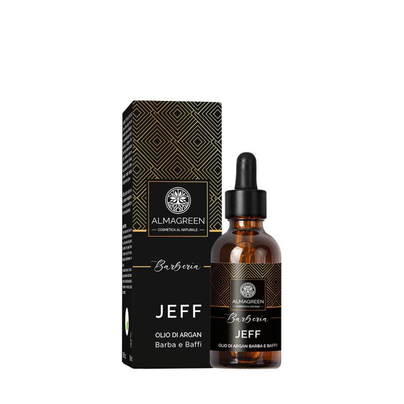 Olio di Argan emolliente per barba e baffi - Almagreen - Cosmetica al Naturale