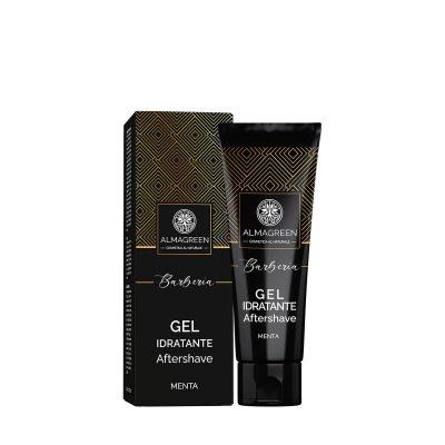 Gel idratante dopo barba - Menta - Almagreen - Cosmetica al Naturale