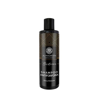 Shampoo antiforfora uomo purificante - Almagreen - Cosmetica al Naturale