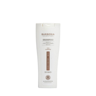 Shampoo delicato uomo uso frequente - Almagreen - Cosmetica al Naturale