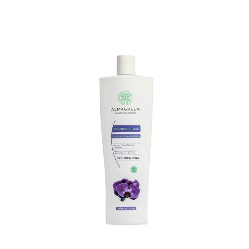 Bagnoschiuma BIO idratante orchidea nera - Almagreen - Cosmetica al Naturale