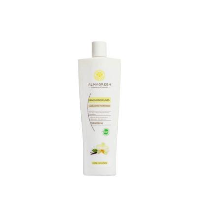 Bagnoschiuma BIO idratante vaniglia - Almagreen - Cosmetica al Naturale