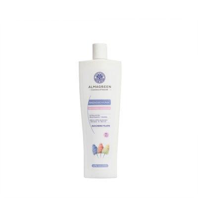 Bagnoschiuma BIO idratante zucchero filato - Almagreen - Cosmetica al Naturale