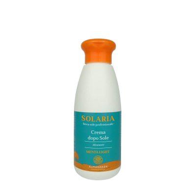 Crema idratante pre/dopo sole menta light - Almagreen - Cosmetica al Naturale