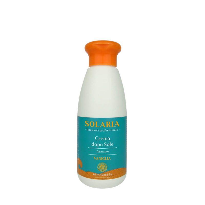 Crema idratante pre/dopo sole vaniglia - Almagreen - Cosmetica al Naturale