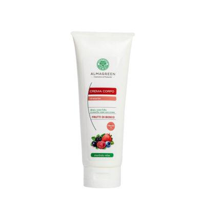 Crema idratante frutti di bosco morbido relax - Almagreen - Cosmetica al Naturale