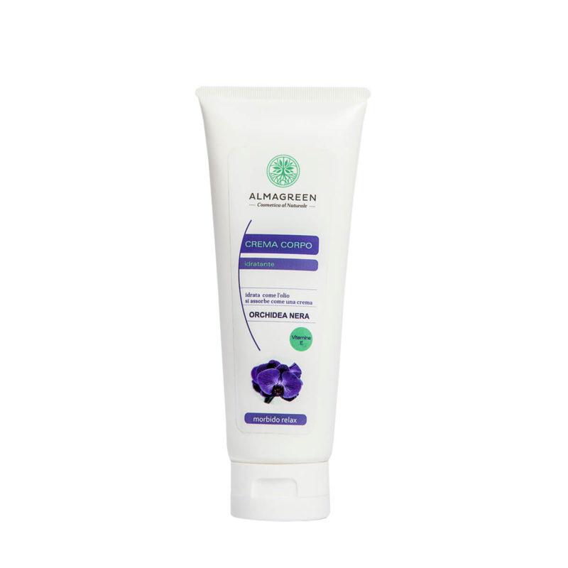 Crema idratante orchidea nera morbido relax - Almagreen - Cosmetica al Naturale