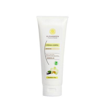 Crema idratante vaniglia morbido relax - Almagreen - Cosmetica al Naturale
