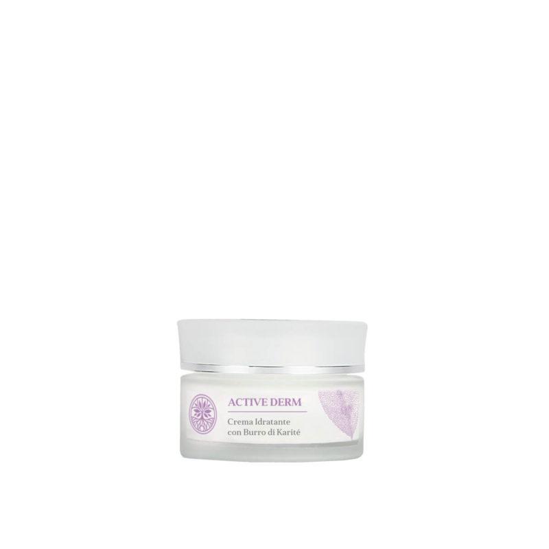 Crema viso naturale idratante al burro di karitè - Almagreen - Cosmetica al Naturale