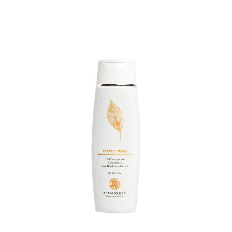 Gel detergente struccante no lacrime - Almagreen - Cosmetica al Naturale