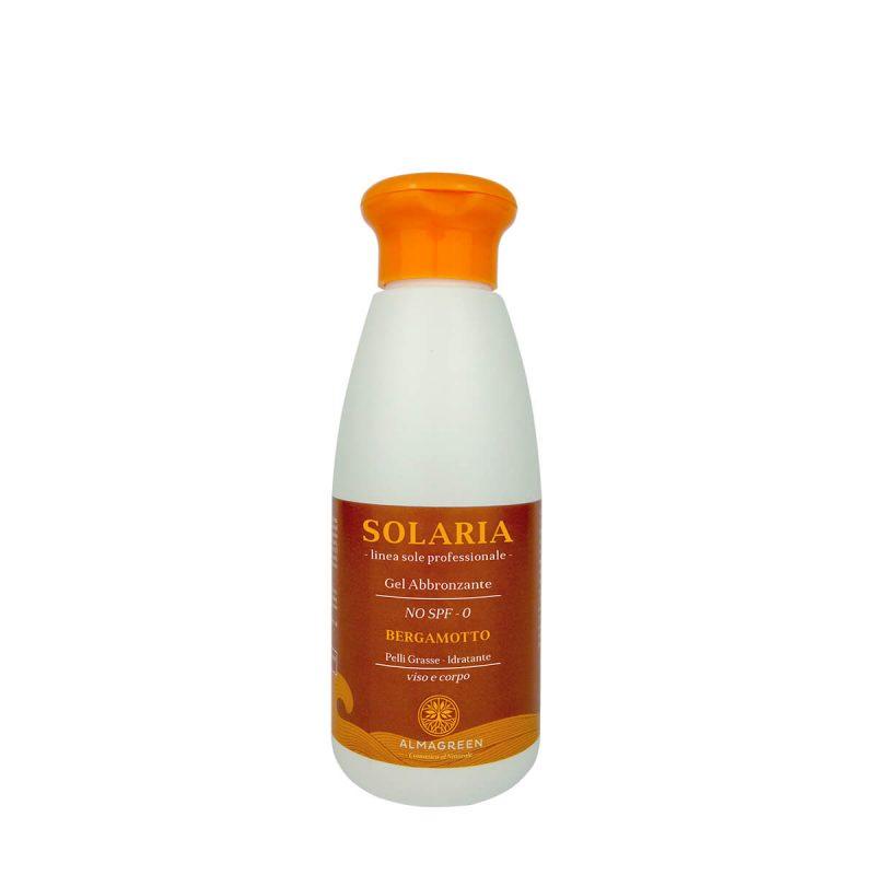 Hydro gel solare abbronzante pelli grasse - Almagreen - Cosmetica al Naturale