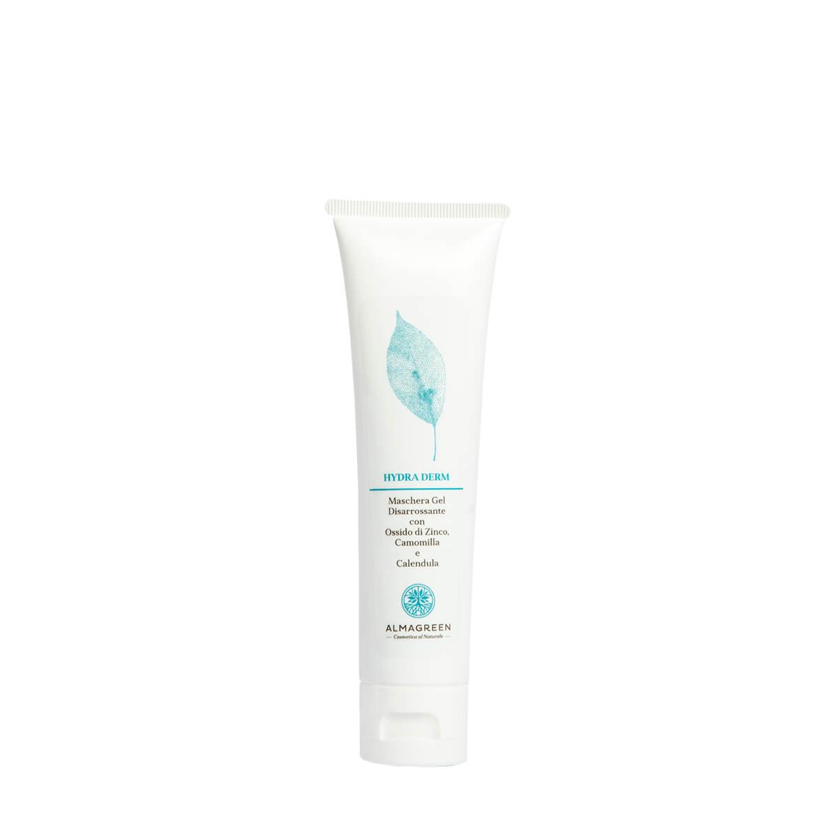 Maschera gel viso anti arrossamento - Almagreen - Cosmetica al Naturale
