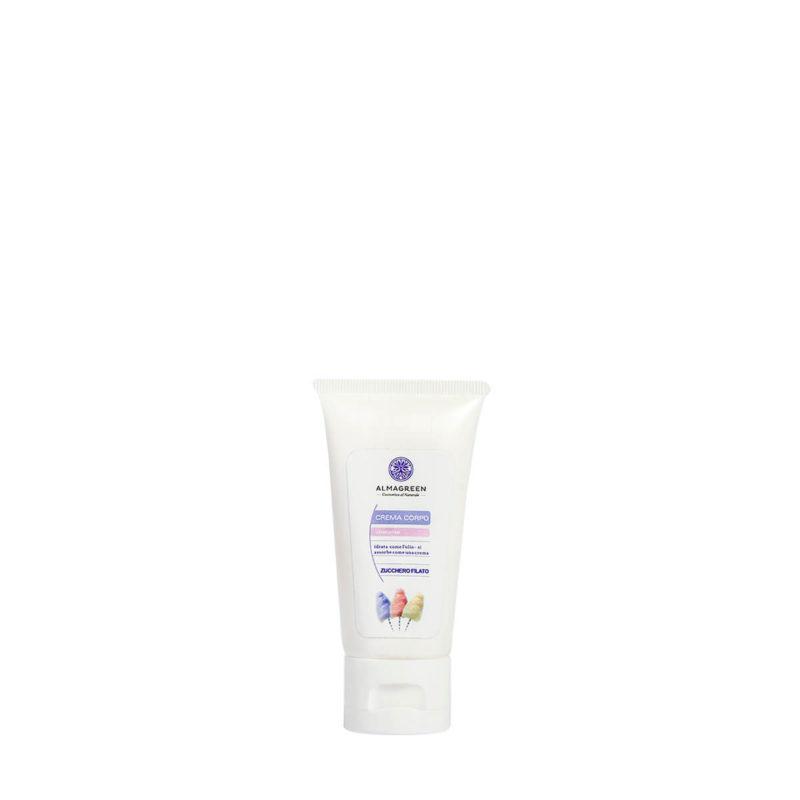 Crema idratante zucchero filato morbido relax 50 ml - Almagreen - Cosmetica al Naturale