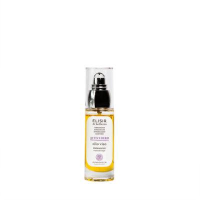 Olio viso BIO anti invecchiamento notte - Almagreen - Cosmetica al Naturale