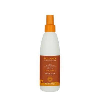 Olio solare secco abbronzante pelli secche - Almagreen - Cosmetica al Naturale