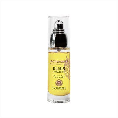 Olio viso anti invecchiamento notte - Almagreen - Cosmetica al Naturale