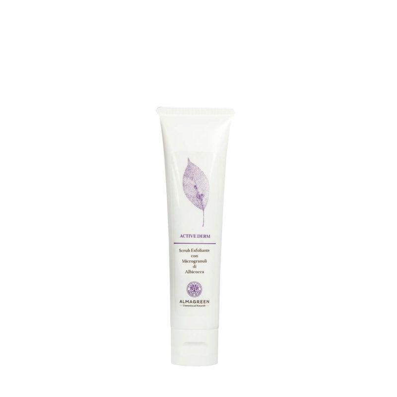 Scrub viso esfoliante con microgranuli - Almagreen - Cosmetica al Naturale