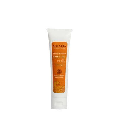 Crema solare protettiva bassa SPF 6 - Almagreen - Cosmetica al Naturale - www.almagreen.com