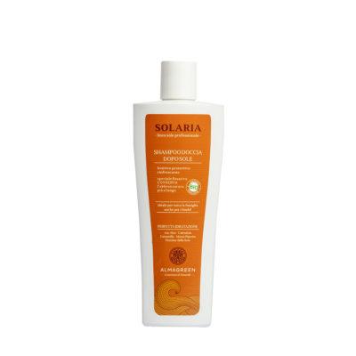 Shampoo doccia BIO lenitivo dopo sole - Almagreen - Cosmetica al Naturale - www.almagreen.com