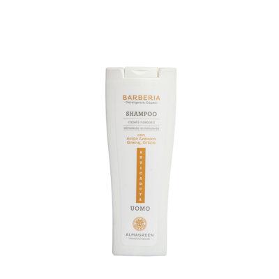 Shampoo anticaduta uomo rivitalizzante - Almagreen - Cosmetica al Naturale - www.almagreen.com