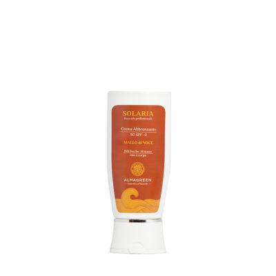Crema solare abbronzante pelli secche - Almagreen - Cosmetica al Naturale - www.almagreen.com