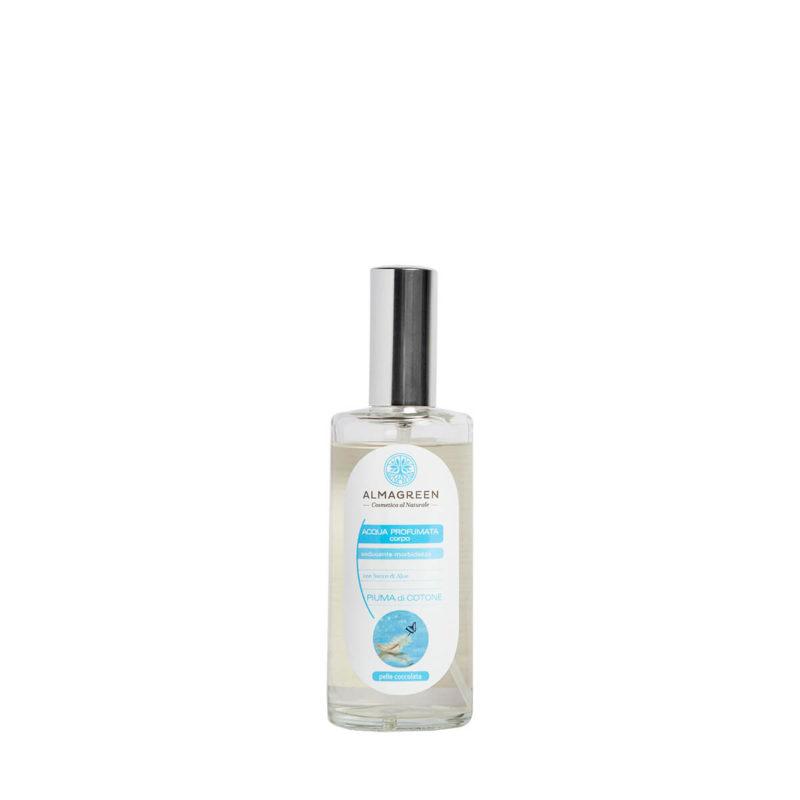 Acqua profumata BIO piuma di cotone - Almagreen - Cosmetica al Naturale