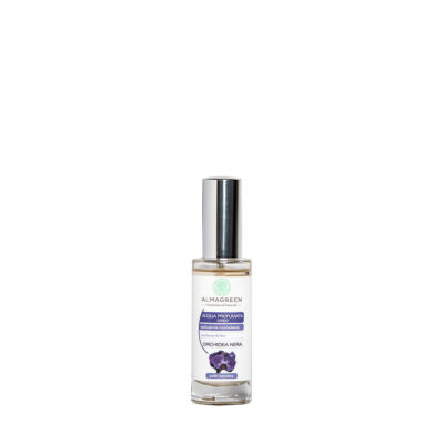 Acqua profumata BIO all'orchidea nera - Almagreen - Cosmetica al Naturale