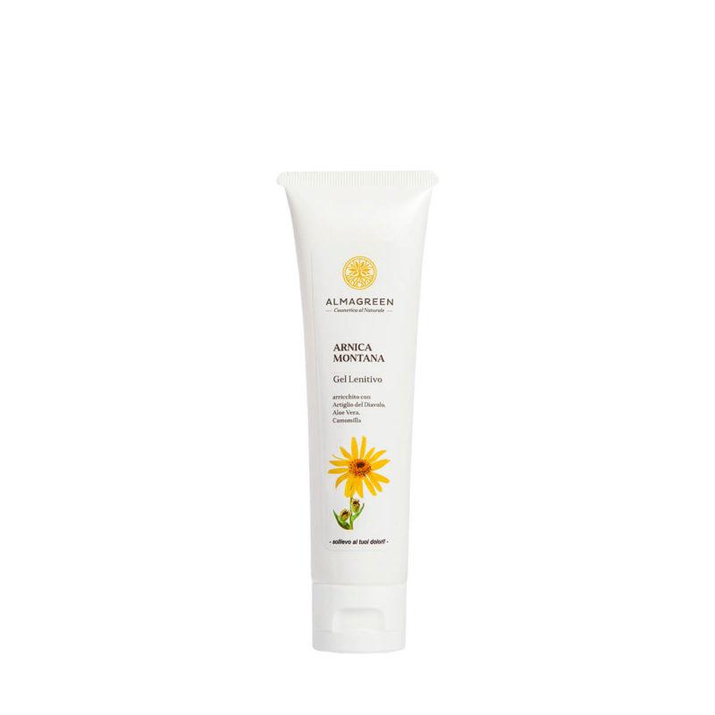 Gel corpo lenitivo per dolori muscolari - Almagreen - Cosmetica al Naturale
