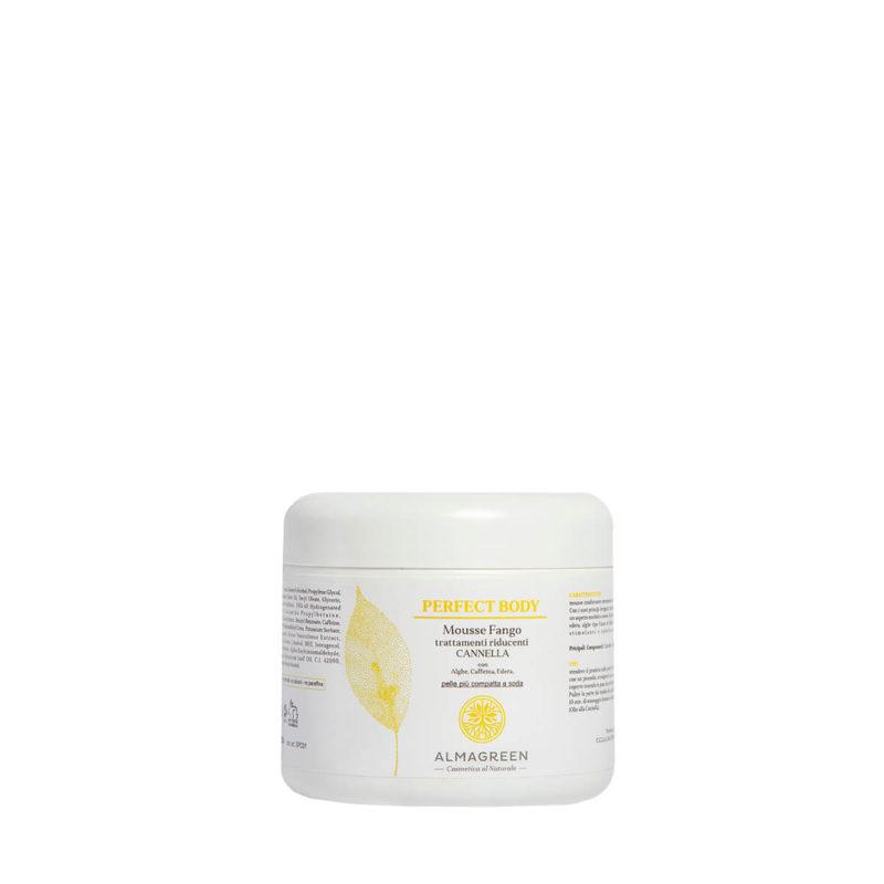 Mousse da posa anti cellulite con cannella - Almagreen - Cosmetica al Naturale