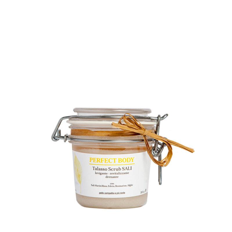 Thalasso scrub esfoliante e drenante - Almagreen - Cosmetica al Naturale