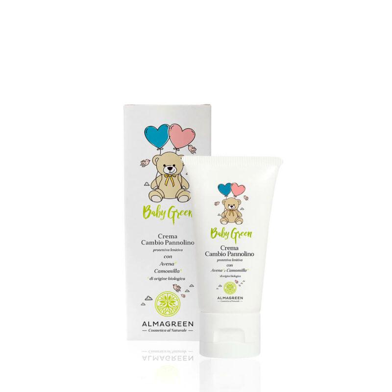 Crema cambio pannolino lenitiva con avena e camomilla - Almagreen