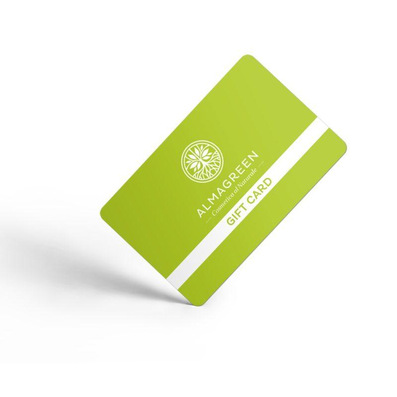 Gift Card - Buono regalo da 25 a 200 € - Almagreen - Cosmetica al Naturale - www.almagreen.com