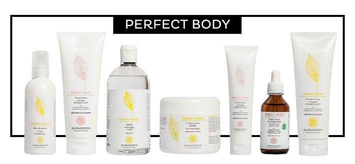 Scopri la linea Perfect Body di Almagreen, i prodotti naturali per la cura e il benessere del tuo corpo.