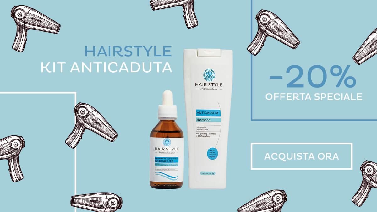 Promo Kit fiala e shampoo anticaduta naturali