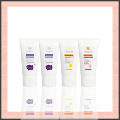 Confezione Regalo Cosmetici Naturali: Kit Corpo e Capelli Orchidea Nera - Almagreen