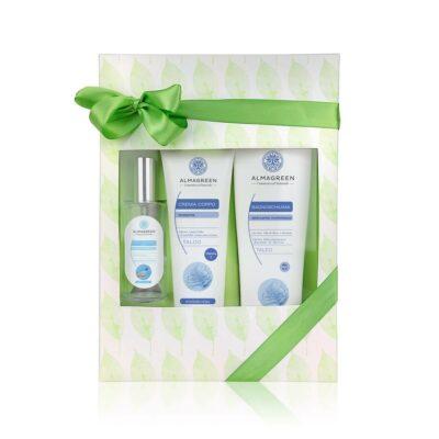 Confezione regalo prodotti naturali per il corpo Talco| Almagreen