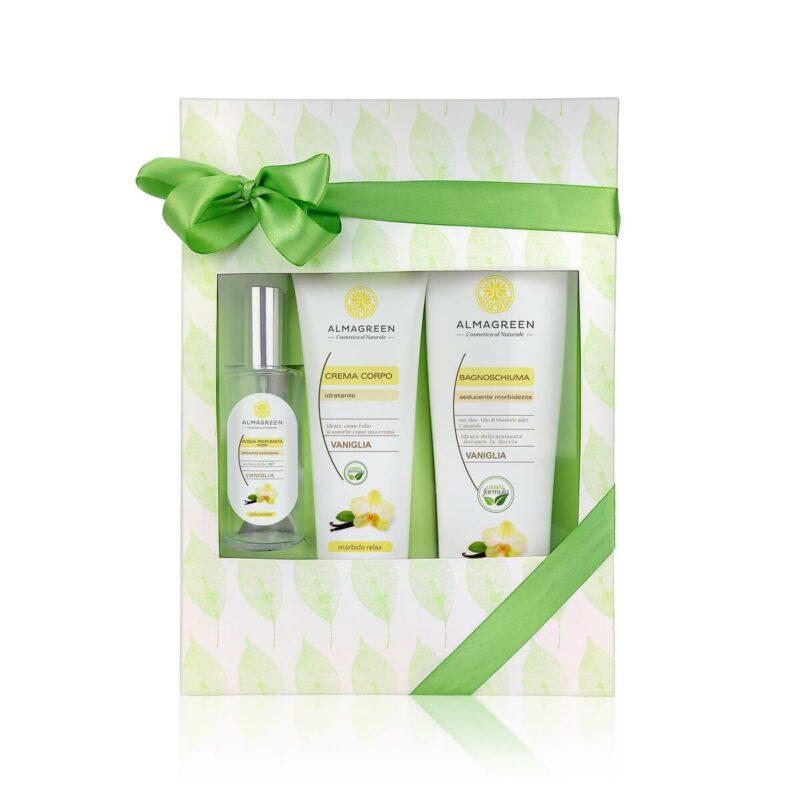 Confezione regalo prodotti naturali per il corpo Vaniglia | Almagreen
