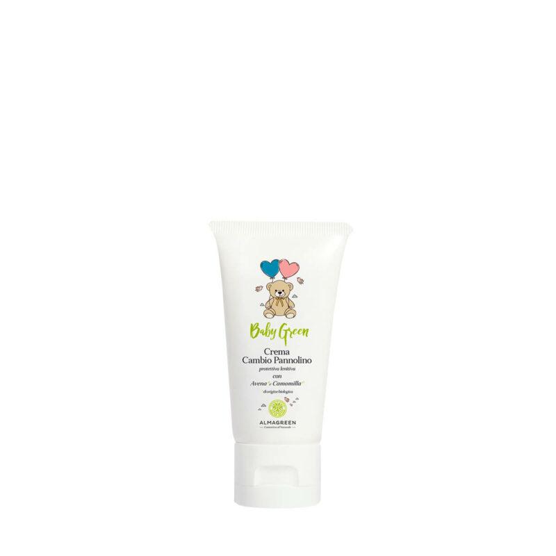 Crema lenitiva cambio pannolino naturale con avena e camomilla - Almagreen