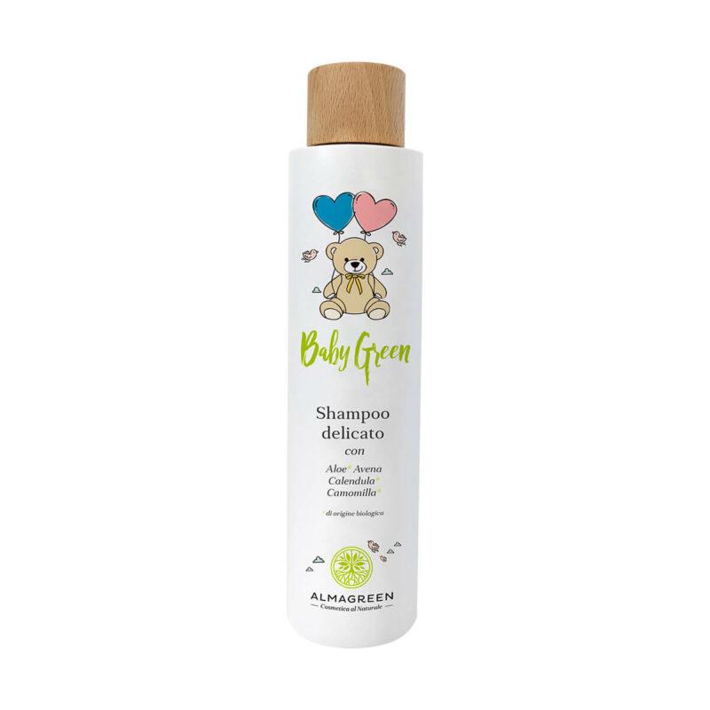 Shampoo neonati con aloe, avena, calendula, camomilla - Almagreen