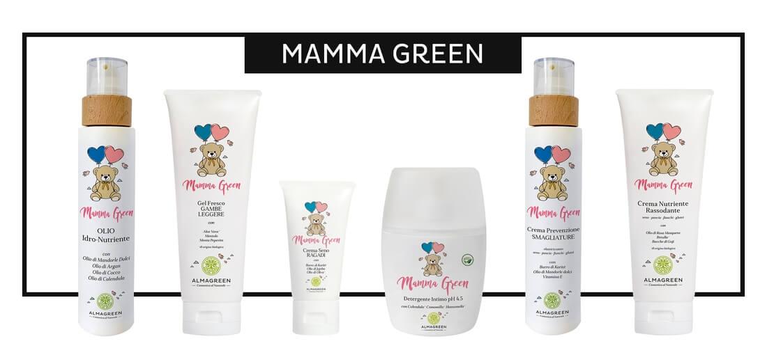 """Prodotti naturali per neomamme """"Mamma Green"""" - Almagreen"""