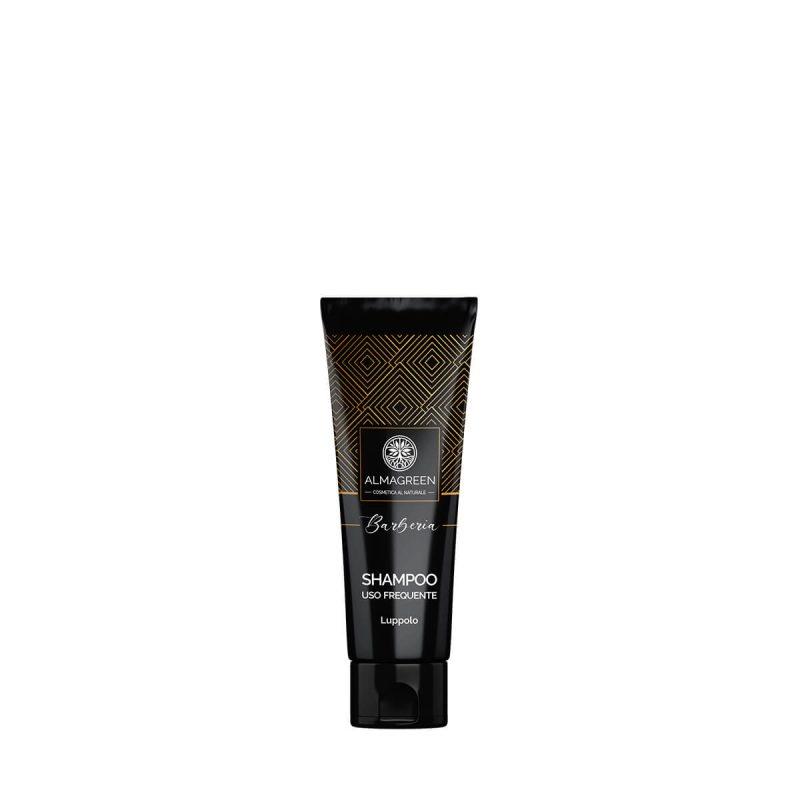 Shampoo delicato uomo uso frequente 50ml - Almagreen - Cosmetica al Naturale