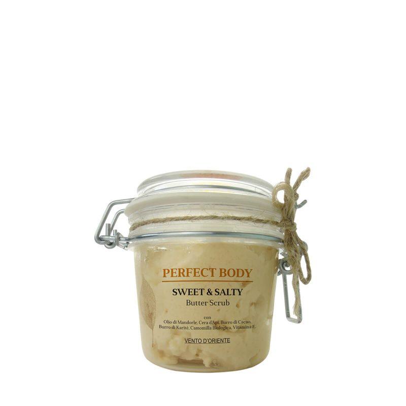 Sweet & salty Butter Scrub corpo antipollution - Almagreen - Cosmetica al Naturale