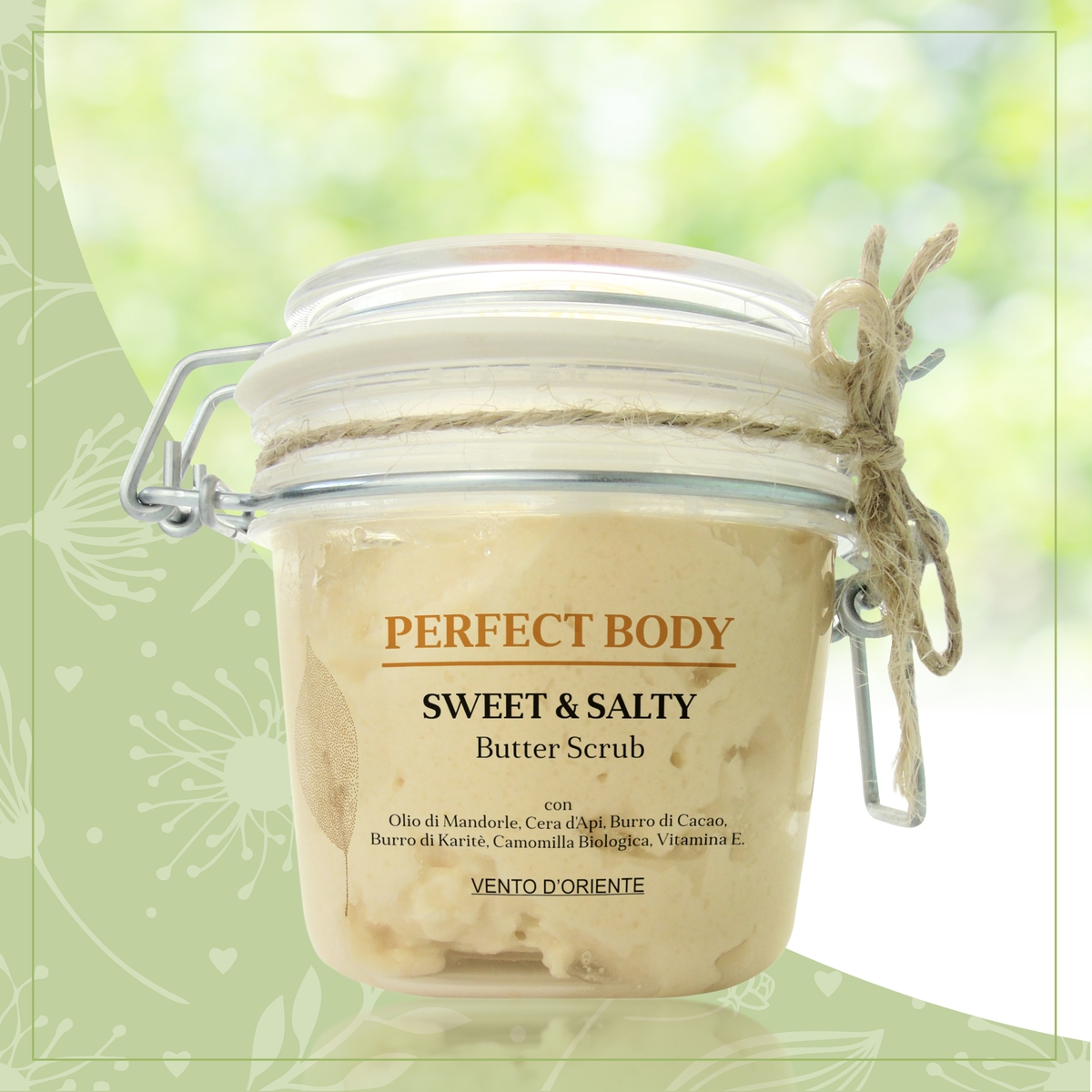 Sweet & Salty Butter Scrub antipollution